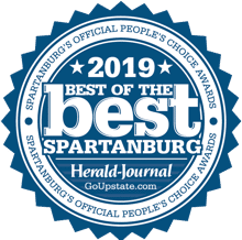 2019 Best of the best spartanburg's official peoples choice award by herald journal